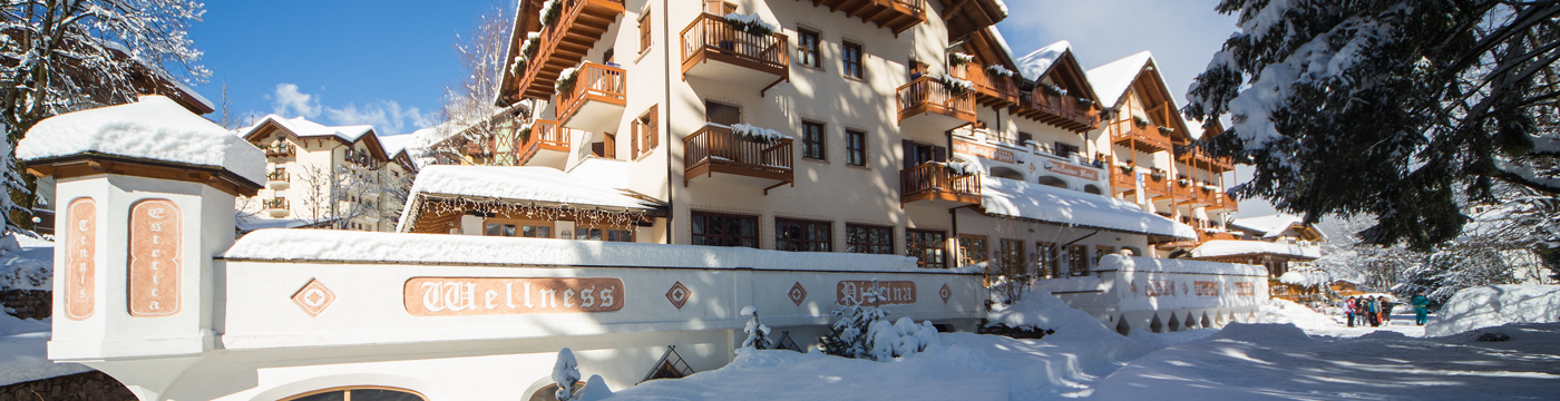 Hotel 4 Stelle ad Andalo, Park Hotel Sport inverno