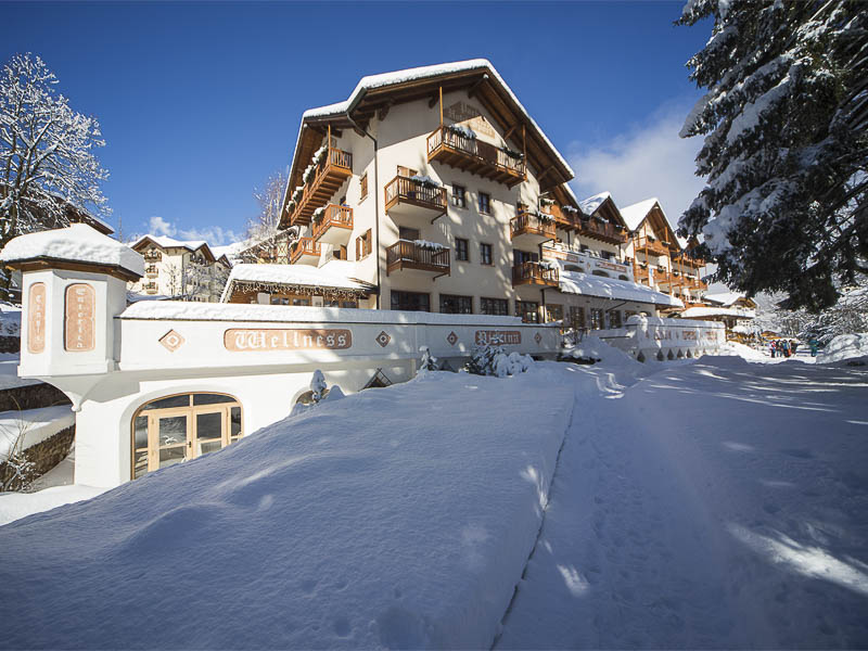Family Hotel 4 stelle, Park Hotel ad Andalo in inverno