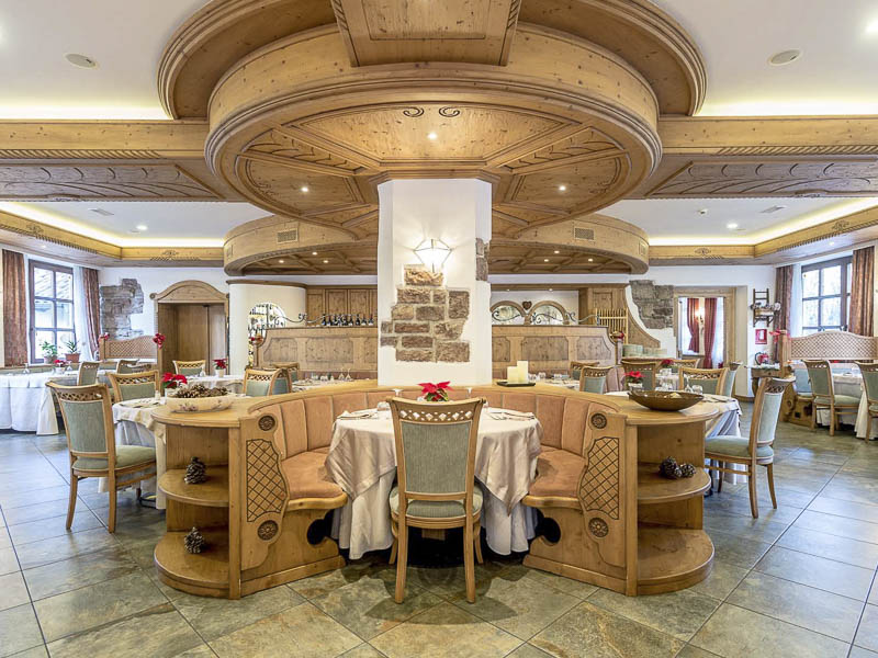 Ristorante hotel andalo mezza pensione o pensione completa for Hotel mezza pensione bressanone