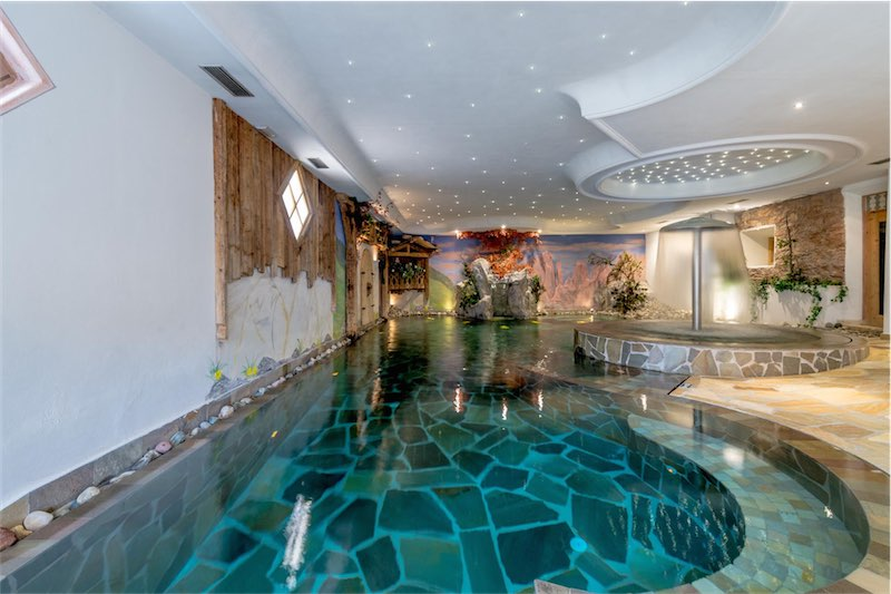 hotel ad andalo con piscina per sport e relax park hotel